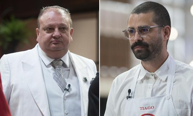 """Jacquin diz que prato de Tiago é incomível: """"Do inferno"""""""