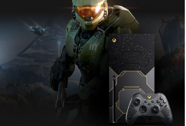 Pré-venda do console Xbox Series X Edição Especial Halo Infinite terá início no Brasil