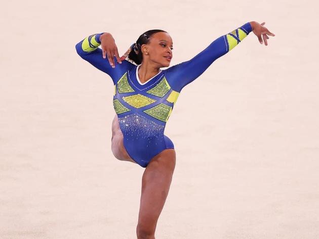 Com Rebeca Andrade, CBG convoca seleção para Mundial de ginástica artística