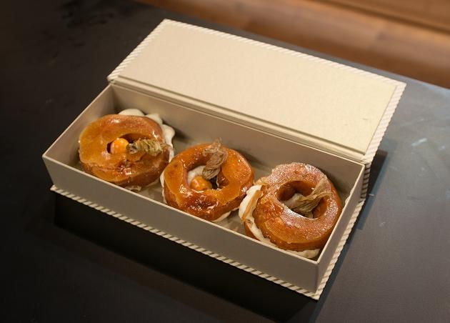Donuts com creme chiboust e caramelo crocante | Band Receitas