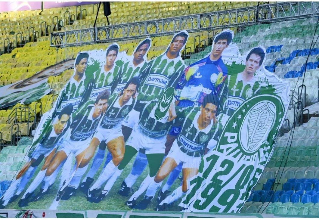 Neto critica organizada do Palmeiras por tirar Edílson de foto de time campeão
