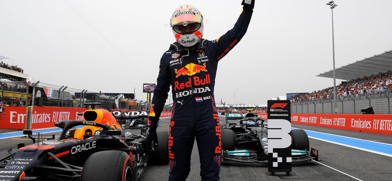 F1: Verstappen confirma favoritismo e garante pole position no GP da França