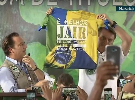 MP pede multa a Bolsonaro por propaganda eleitoral antecipada
