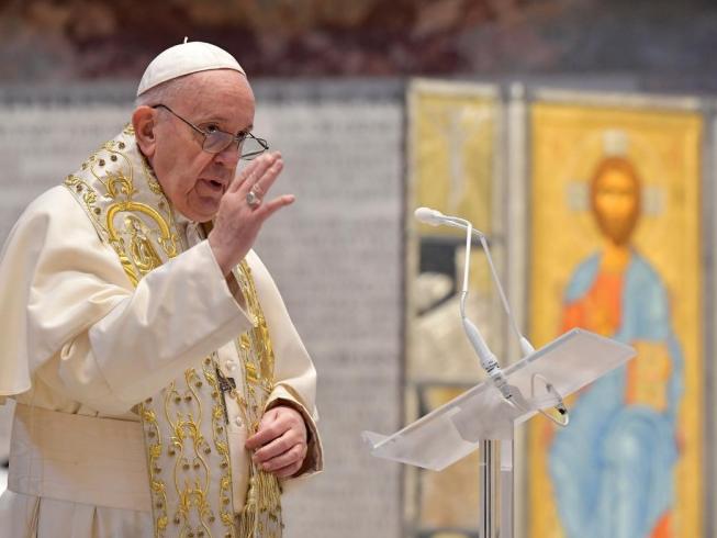 Papa Francisco pede que vacinas seja compartilhadas com países pobres