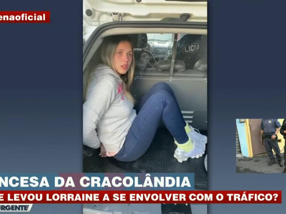 'Gatinha da Cracolândia' divide cela em DP de São Paulo com Anne Frigo