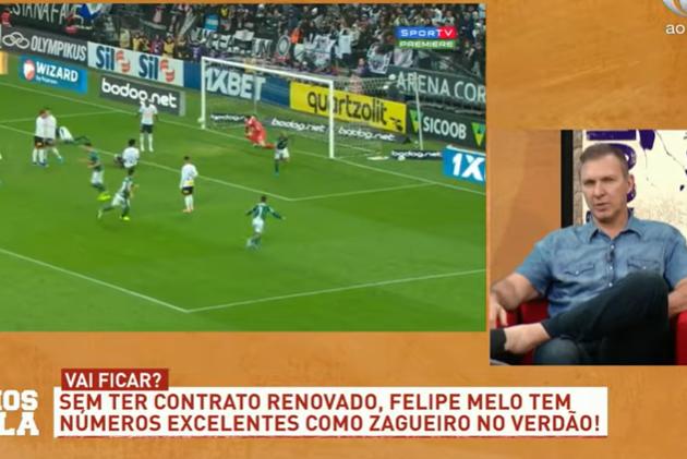 """Velloso: """"Abel fala para a diretoria que não quer Felipe Melo"""""""