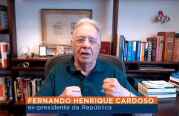 """""""Espero que as possibilidades não se esgotem nesses lados"""", afirma FHC sobre polarização entre Lula e Bolsonaro"""