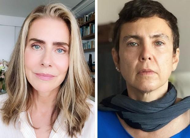 Maitê Proença e Adriana Calcanhotto se manifestam sobre possível affair