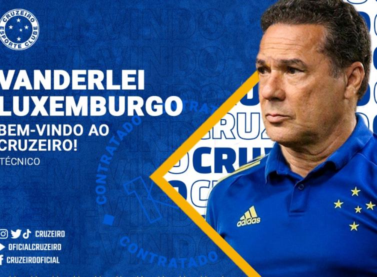Cruzeiro confirma contratação de Vanderlei Luxemburgo