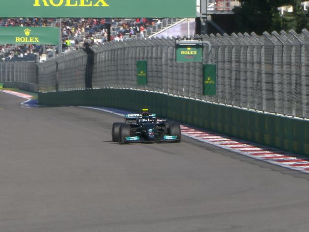 F1: Bottas mantém domínio da Mercedes e é o mais rápido do dia em Sochi