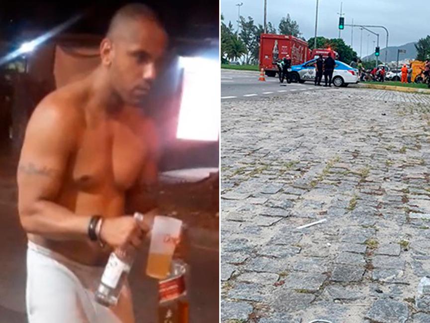 Audiência de bombeiro que matou ciclista no Rio de Janeiro é marcada
