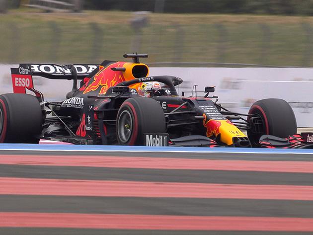 F1: Verstappen é o mais rápido do terceiro treino livre para o GP da França