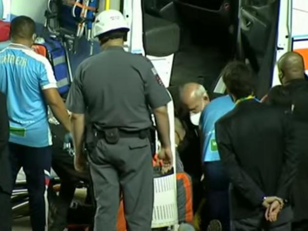 Massagista do São Paulo passa mal durante partida no Morumbi