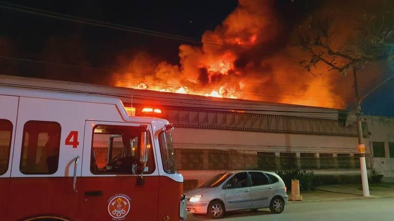 Incêndio atinge unidade da Cinemateca em São Paulo