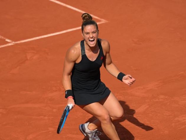 Sakkari derruba atual campeã Swiatek e faz 1ª semifinal da carreira em Roland Garros