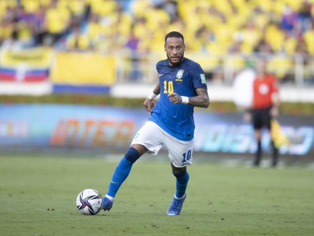 Neymar parece saturado