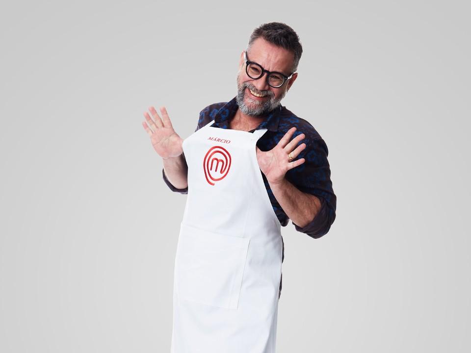 Ator e professor, Márcio sonha com carreira gastronômica após MasterChef