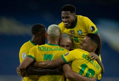 Em grande partida coletiva, Brasil goleia o Peru na Copa América por 4 a 0