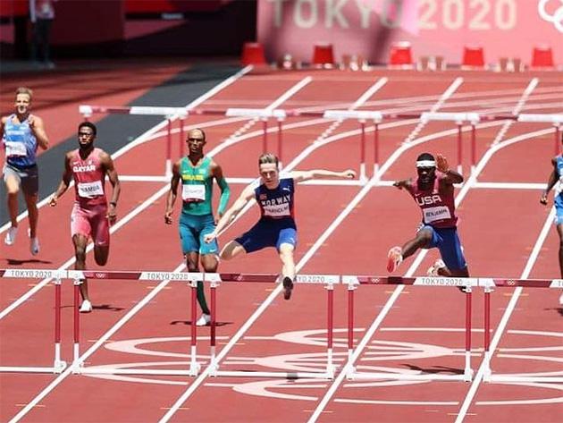 Com bronze de Alison dos Santos, final dos 400m com barreiras entrou para história