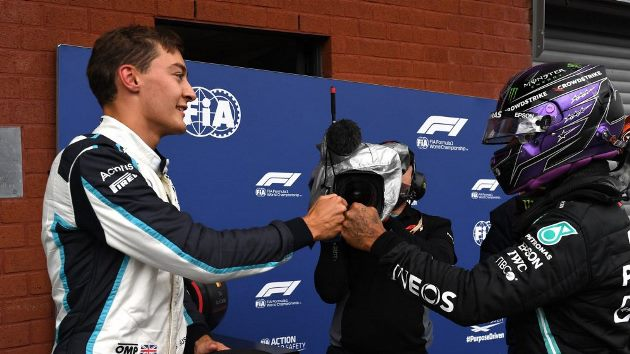 """Mercedes fala em """"ajustar"""" Russell para evitar que conflito Hamilton x Rosberg se repita no ano que vem"""