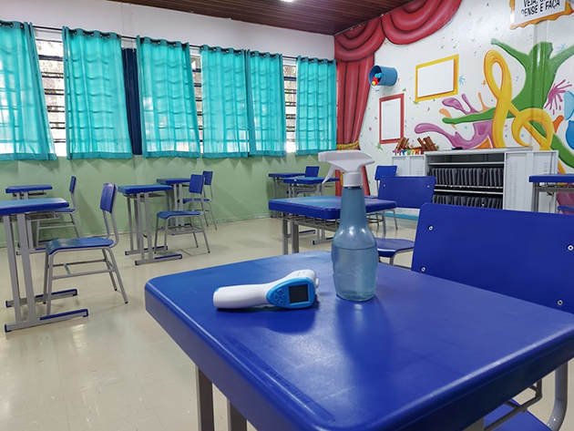Rede municipal de ensino de SP volta a ter 100% dos alunos nas salas de aula