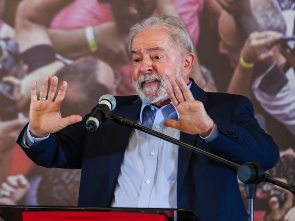 """Lula: """"O mercado, se tivesse juízo, ia à Aparecida pagar promessa para eu voltar"""""""