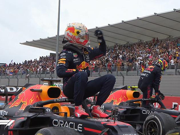 """F1: """"A estratégia valeu a pena"""", diz Verstappen após vitória no GP da França"""