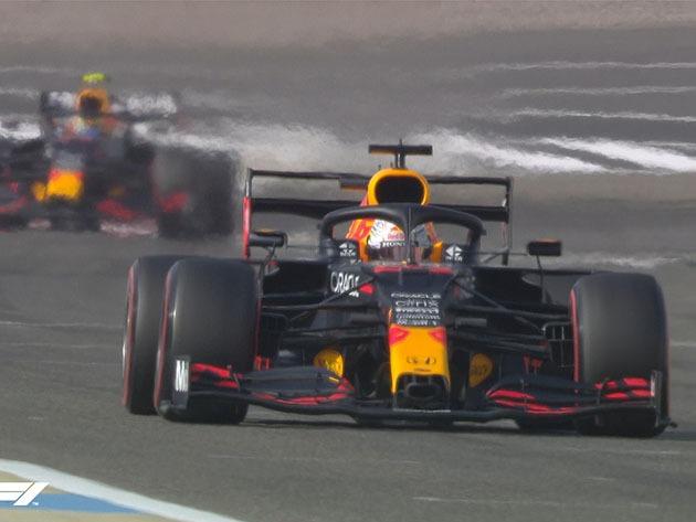 Um dos candidatos ao título da temporada, Verstappen começa bem nos treinos livres