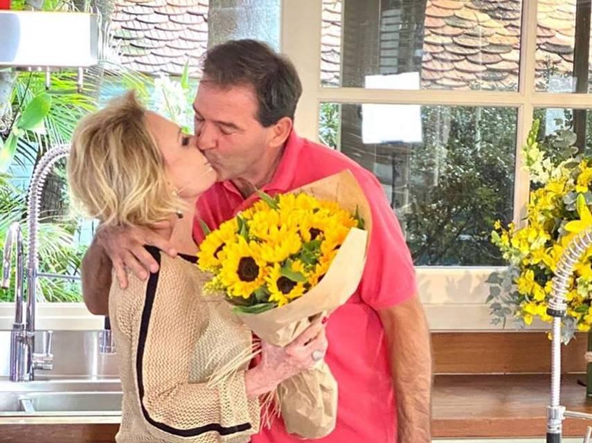 Ex-marido de Ana Maria ameaça revelar segredos do diário da apresentadora