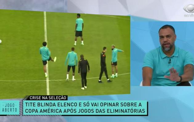 Denílson relembra protesto contra Copa América em 2001 e não crê em Brasil fora