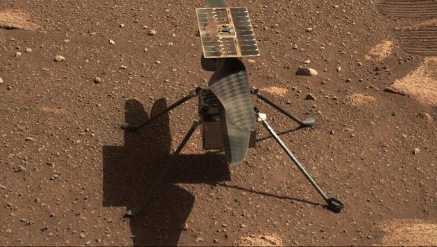 Helicóptero da Nasa tem êxito e faz 1º voo em Marte