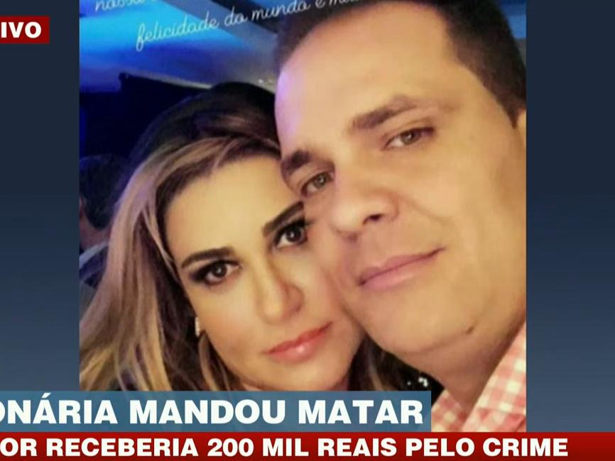 Milionária é presa em SP suspeita de encomendar morte de companheiro