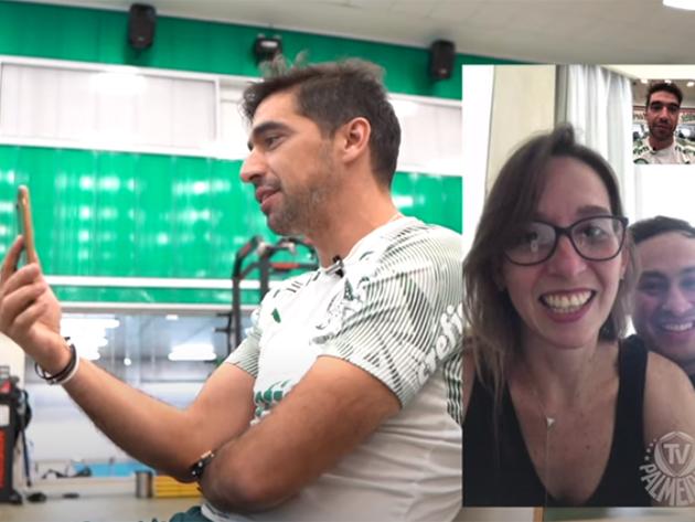 Palmeiras surpreende torcedores com convite para final em ligação de Abel Ferreira