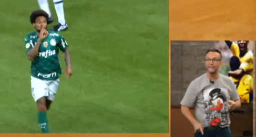 """""""Gesto ridículo"""", diz Craque Neto sobre Luiz Adriano"""