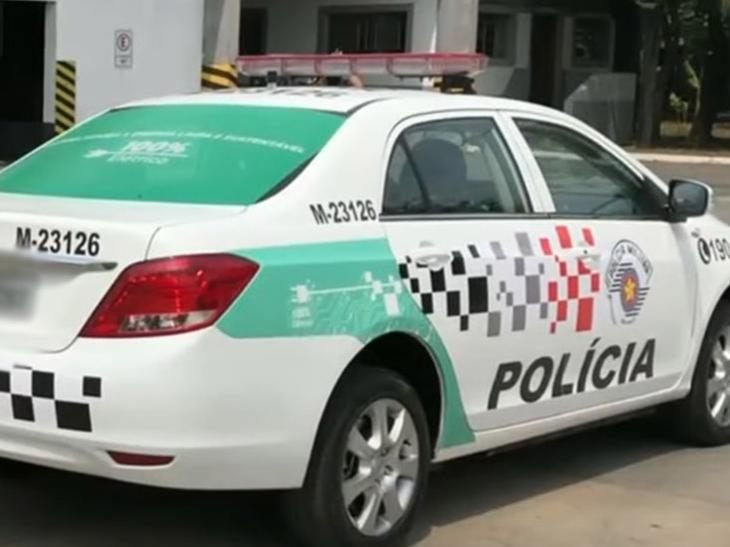 Polícia Militar de São Paulo testa viaturas elétricas