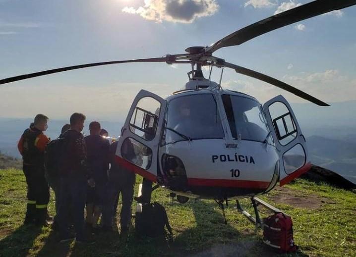 Queda de paraglider mobiliza bombeiros e PM em Cachoeira Paulista