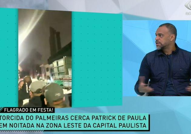 Piercing e balada clandestina: Patrick de Paula sofre críticas no Jogo Aberto