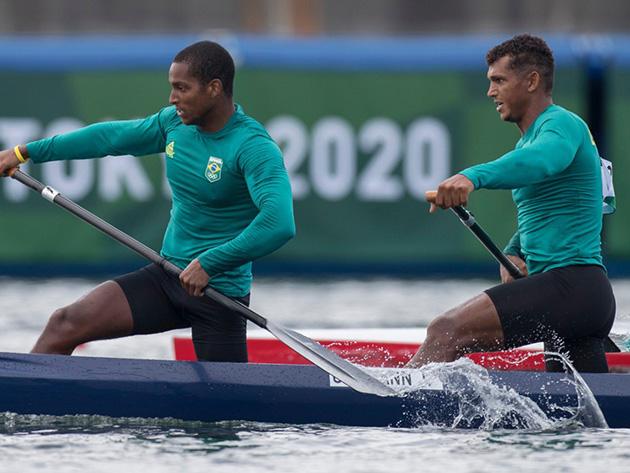 """Isaquias Queiroz mostra confiança em medalha no C2 1.000m: """"Não viemos a passeio"""""""