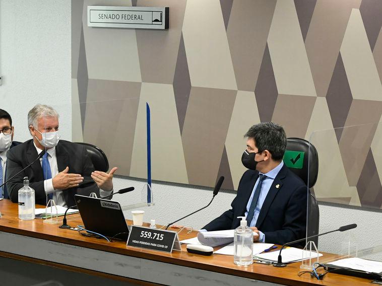 Em depoimento, Airton Cascável negou participação na compra das vacinas