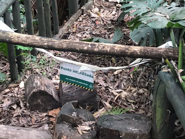 SP: O Parque Colina de São Francisco, na zona oeste de São Paulo, sofre com a falta de manutenção há pelo menos um ano.