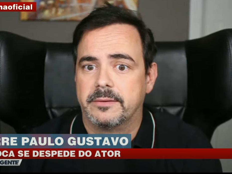 Paulo Gustavo era um comediante brilhante, diz Márvio Lúcio