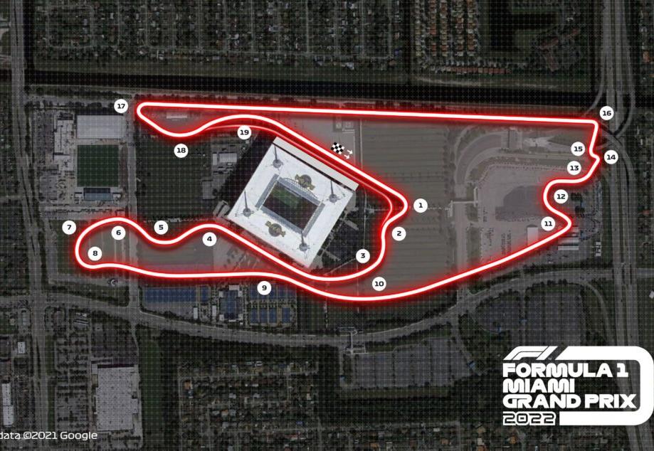 Fórmula 1 confirma realização do Grande Prêmio de Miami a partir de 2022
