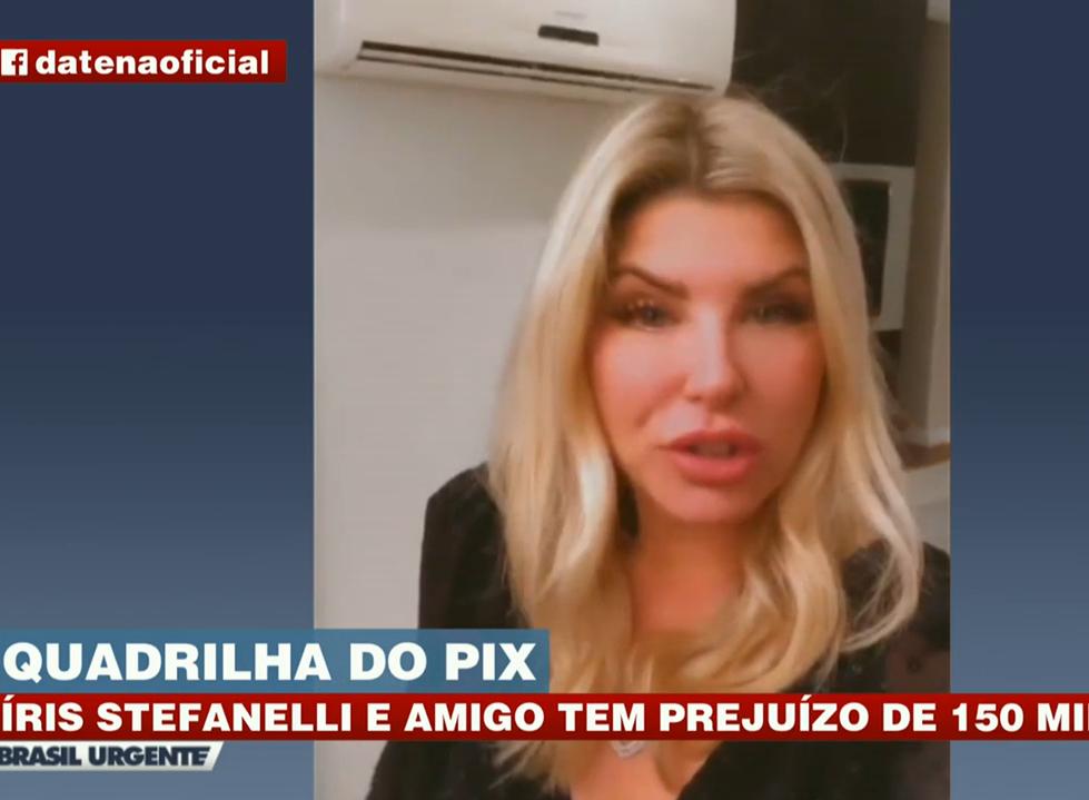 Íris Stefanelli é assaltada em SP e perde R$ 150 mil
