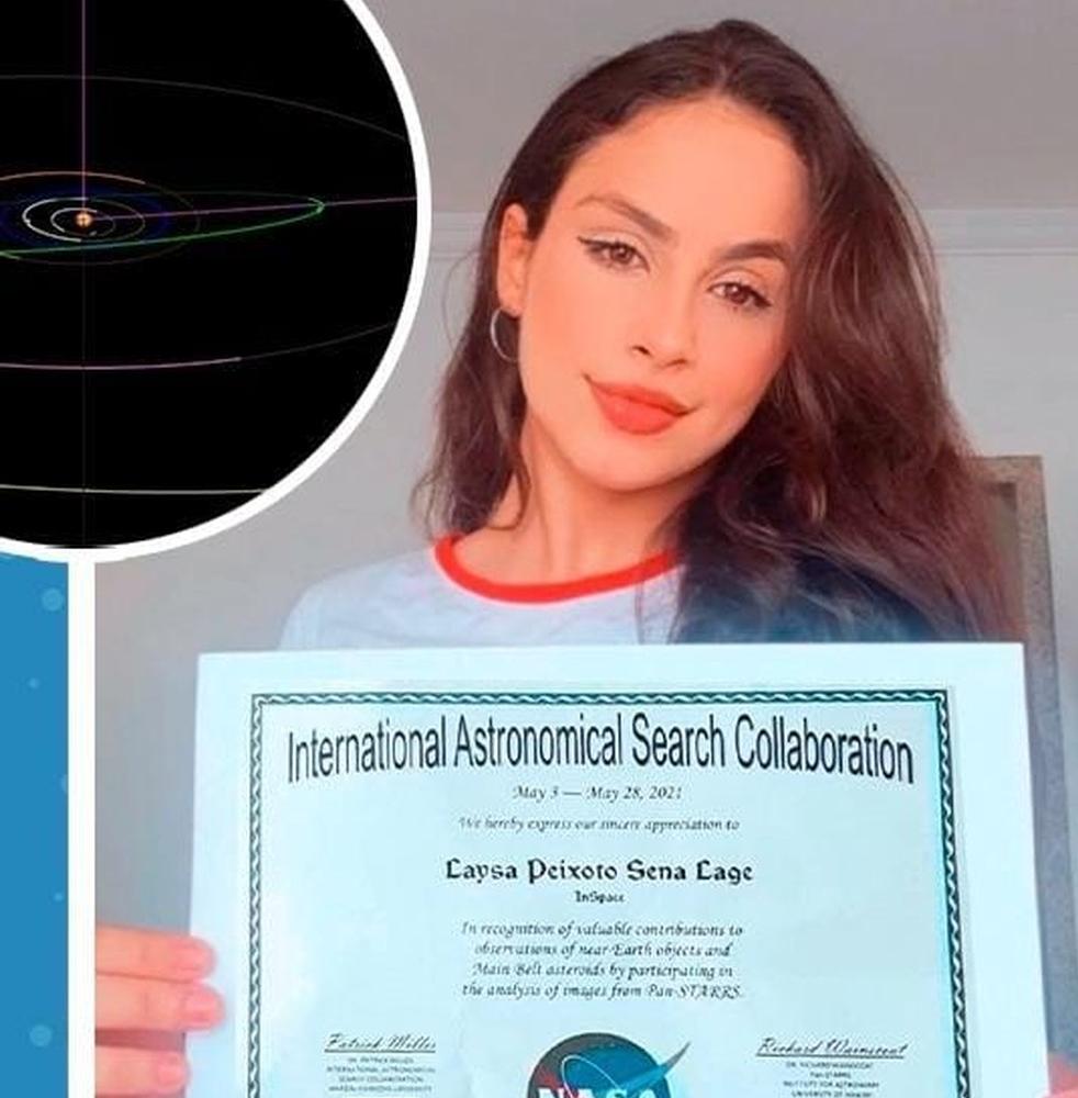 Estudante de 18 anos da UFMG descobre novo asteroide