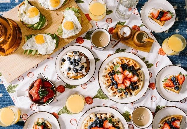 Como montar um café da manhã especial para a sua mãe