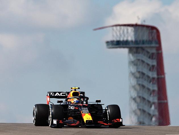 F1: Pérez mantém bom desempenho e lidera terceiro treino livre nos Estados Unidos