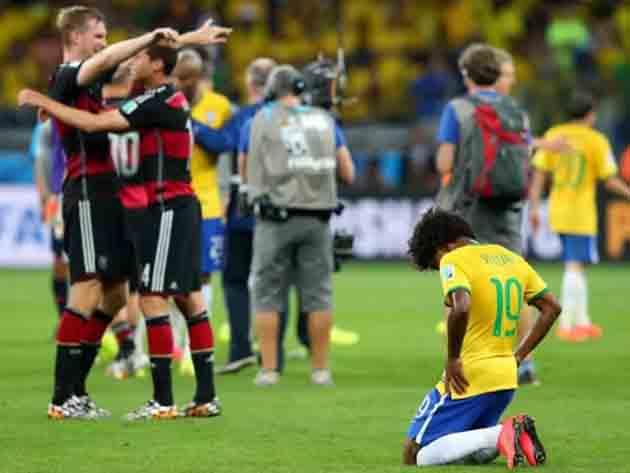 Há sete anos o Brasil vivia o seu maior vexame em Copas do Mundo