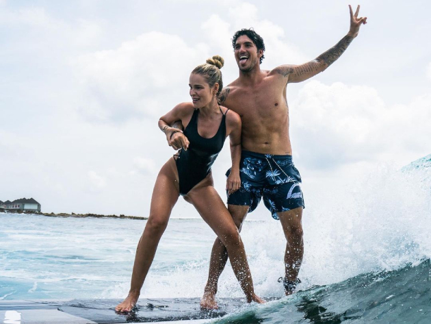 COB vetou credencial para a esposa do bicampeão mundial de surfe