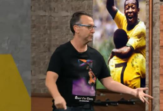 """Neto aconselha Athletico antes de duelo com Flamengo: """"Cuidado com a arbitragem"""""""