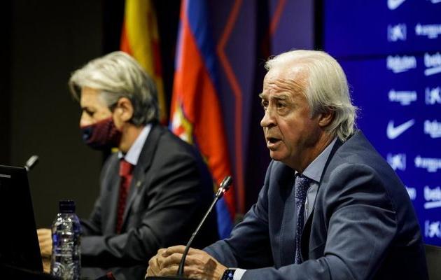 """Presidente interino do Barça quer realizar eleições """"o mais rápido possível"""""""